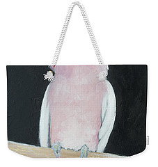 Major Mitchell Cockatoo Weekender Tote Bag by Jan Matson