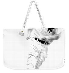 Mantles Gate  Mickey Mantle Weekender Tote Bag by Iconic Images Art Gallery David Pucciarelli