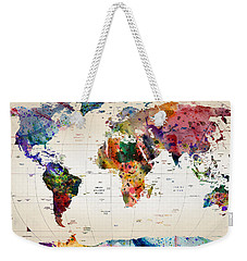 MAP Weekender Tote Bag by Mark Ashkenazi