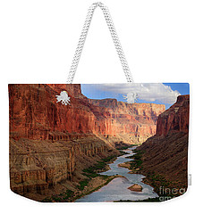 Marble Canyon Weekender Tote Bag by Inge Johnsson