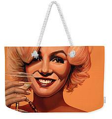 Marilyn Monroe 5 Weekender Tote Bag by Paul Meijering