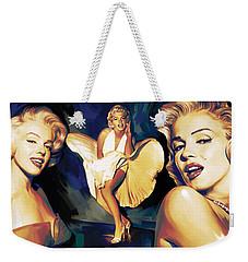 Marilyn Monroe Artwork 3 Weekender Tote Bag by Sheraz A