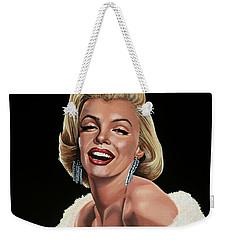 Marilyn Monroe Weekender Tote Bag by Paul Meijering