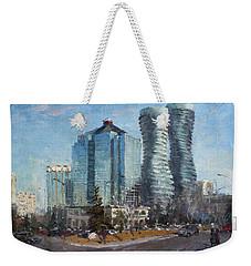Marilyn Monroe Towers Weekender Tote Bag by Ylli Haruni