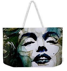 Marilyn No10 Weekender Tote Bag by Paul Lovering