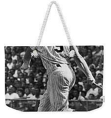 Maris Hits 52nd Home Run Weekender Tote Bag by Underwood Archives