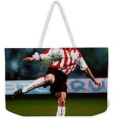 Mark Van Bommel Weekender Tote Bag by Paul Meijering