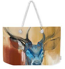 Mask Weekender Tote Bag by Mark Adlington
