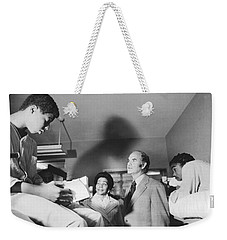 Mcgovern And Mrs. Coretta King Weekender Tote Bag by Underwood Archives