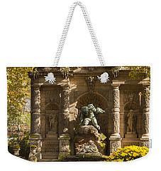Medici Fountain - Paris Weekender Tote Bag by Brian Jannsen