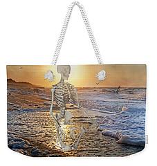 Meditative Morning Weekender Tote Bag by Betsy Knapp
