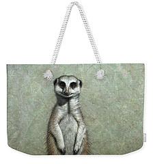 Meerkat Weekender Tote Bag by James W Johnson