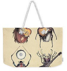Meet The Beetles Weekender Tote Bag by Eric Fan