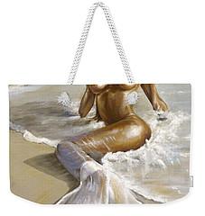Mermaid Weekender Tote Bag by Karina Llergo