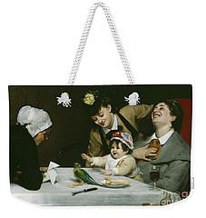 Merrymakers Weekender Tote Bag by Charles Emile Auguste Carolus-Duran