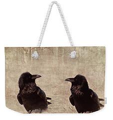 Messenger Weekender Tote Bag by Priska Wettstein