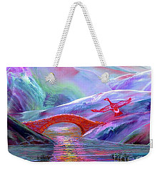 Midnight Silence, Flying Goose Weekender Tote Bag by Jane Small