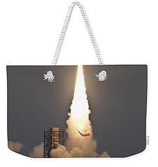 Minotaur I Launch Weekender Tote Bag by Science Source