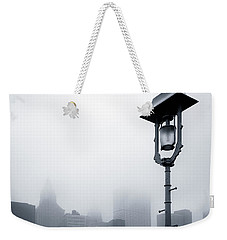 Misty City Weekender Tote Bag by Dave Bowman