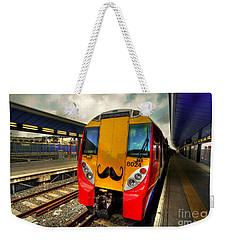 Mo Train  Weekender Tote Bag by Rob Hawkins