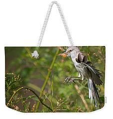Mockingbird Weekender Tote Bag by Bill Wakeley