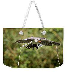 Mockingbird In Flight Weekender Tote Bag by Bill Wakeley