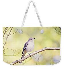 Mockingbird Weekender Tote Bag by Scott Pellegrin