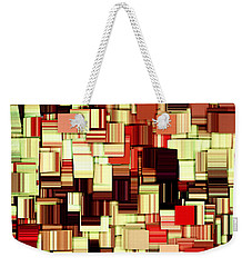 Modern Abstract Art Xvii Weekender Tote Bag by Lourry Legarde
