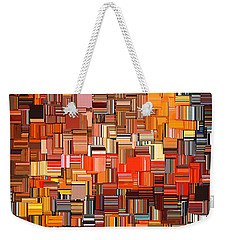 Modern Abstract Xxxi Weekender Tote Bag by Lourry Legarde