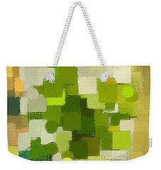 Modern Abstract Xxxv Weekender Tote Bag by Lourry Legarde