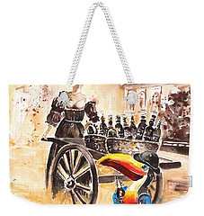 Molly Malone Weekender Tote Bag by Miki De Goodaboom