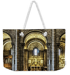 Monaco Cathedral Weekender Tote Bag by Maria Coulson