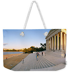 Monument At The Riverside, Jefferson Weekender Tote Bag by Panoramic Images