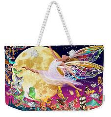 Moon Fairy Variant 1 Weekender Tote Bag by Garry Walton