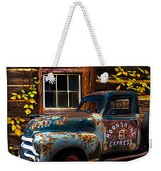 Moonshine Express Weekender Tote Bag by Debra and Dave Vanderlaan