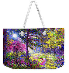 Morning Dew Weekender Tote Bag by Jane Small
