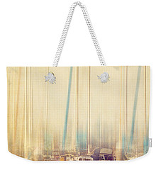 Morning Sail Weekender Tote Bag by Amy Weiss