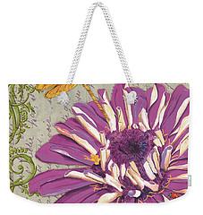 Moulin Floral 2 Weekender Tote Bag by Debbie DeWitt