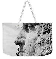 Mount Rushmore Construction Photo Weekender Tote Bag by War Is Hell Store
