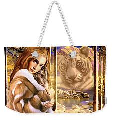 Mountain Spirits Weekender Tote Bag by Andrew Farley