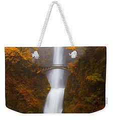 Multnomah Morning Weekender Tote Bag by Darren  White