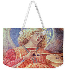 Musical Angel With Violin Weekender Tote Bag by Melozzo da Forli