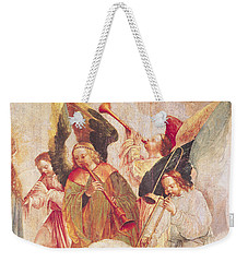 Musical Angels, Detail From The Assumption Of The Virgin Weekender Tote Bag by Taborda Vlame Frey Carlos