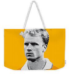 My Bergkamp Soccer Legend Poster Weekender Tote Bag by Chungkong Art
