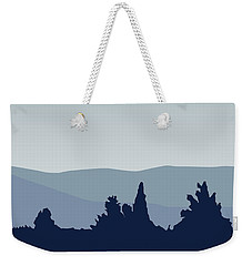 My I Want To Believe Minimal Poster- Tardis Weekender Tote Bag by Chungkong Art