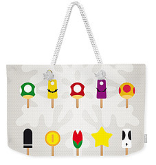 My Mario Ice Pop - Univers Weekender Tote Bag by Chungkong Art