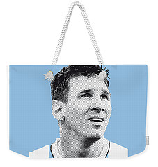 My Messi Soccer Legend Poster Weekender Tote Bag by Chungkong Art
