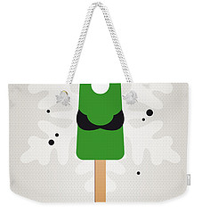 My Nintendo Ice Pop - Luigi Weekender Tote Bag by Chungkong Art