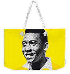 My Pele Soccer Legend Poster Weekender Tote Bag by Chungkong Art
