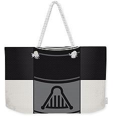 My Star Warhols Darth Vader Minimal Can Poster Weekender Tote Bag by Chungkong Art